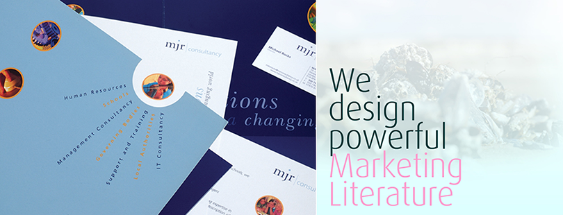 We design powerful marketing literature